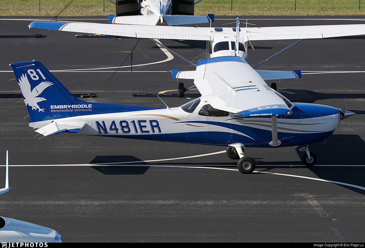 N481ER - Cessna 172S Skyhawk SP - Embry-Riddle Aeronautical University (ERAU)
