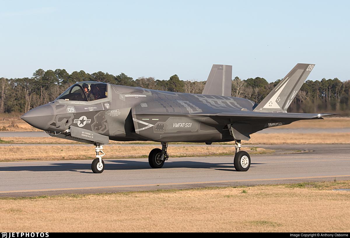 168310 - Lockheed Martin F-35B Lightning II - United States - US Marine Corps (USMC)