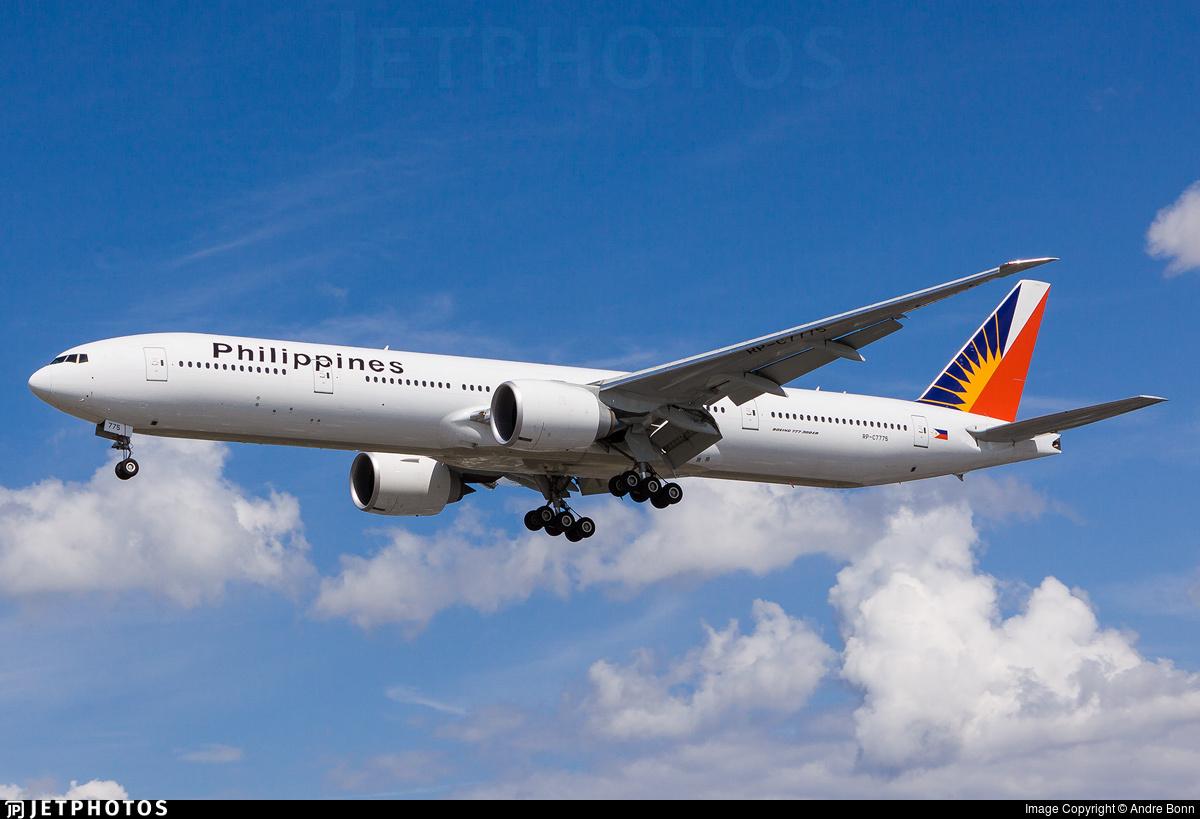 RP-C7775 - Boeing 777-3F6ER - Philippine Airlines