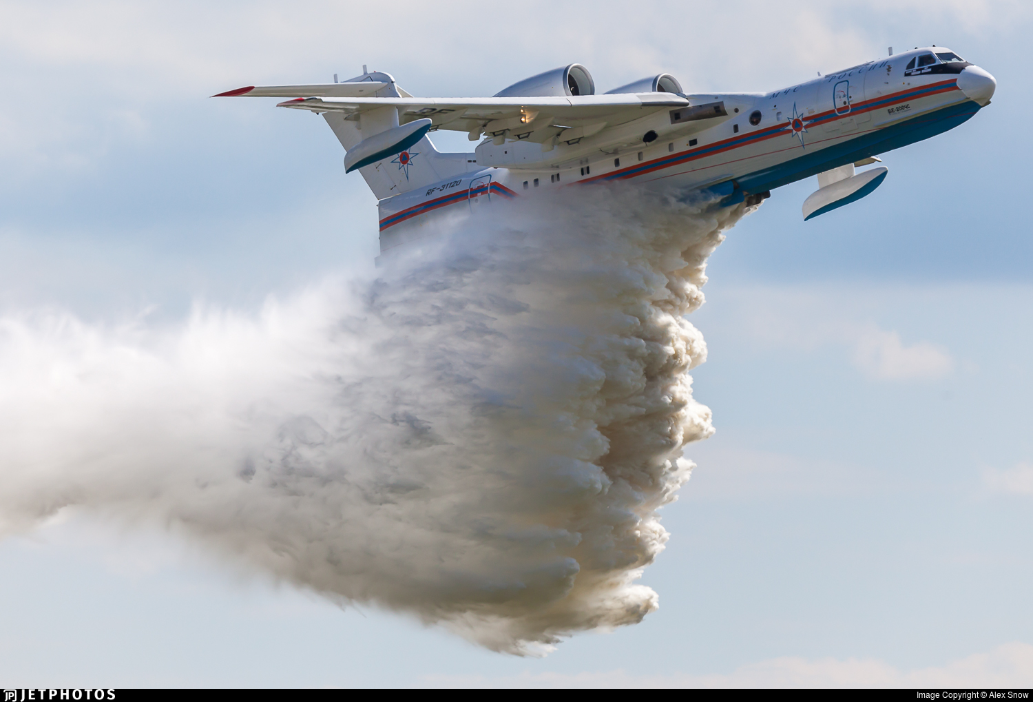 RF-31120 - Beriev Be-200ChS - Russia - Ministry for Emergency Situations (MChS)