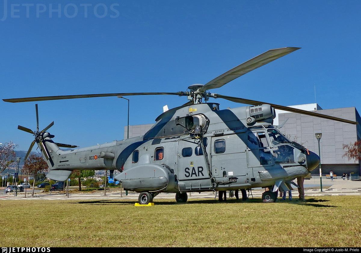 HT.21-02 - Aérospatiale AS 332B Super Puma - Spain - Air Force
