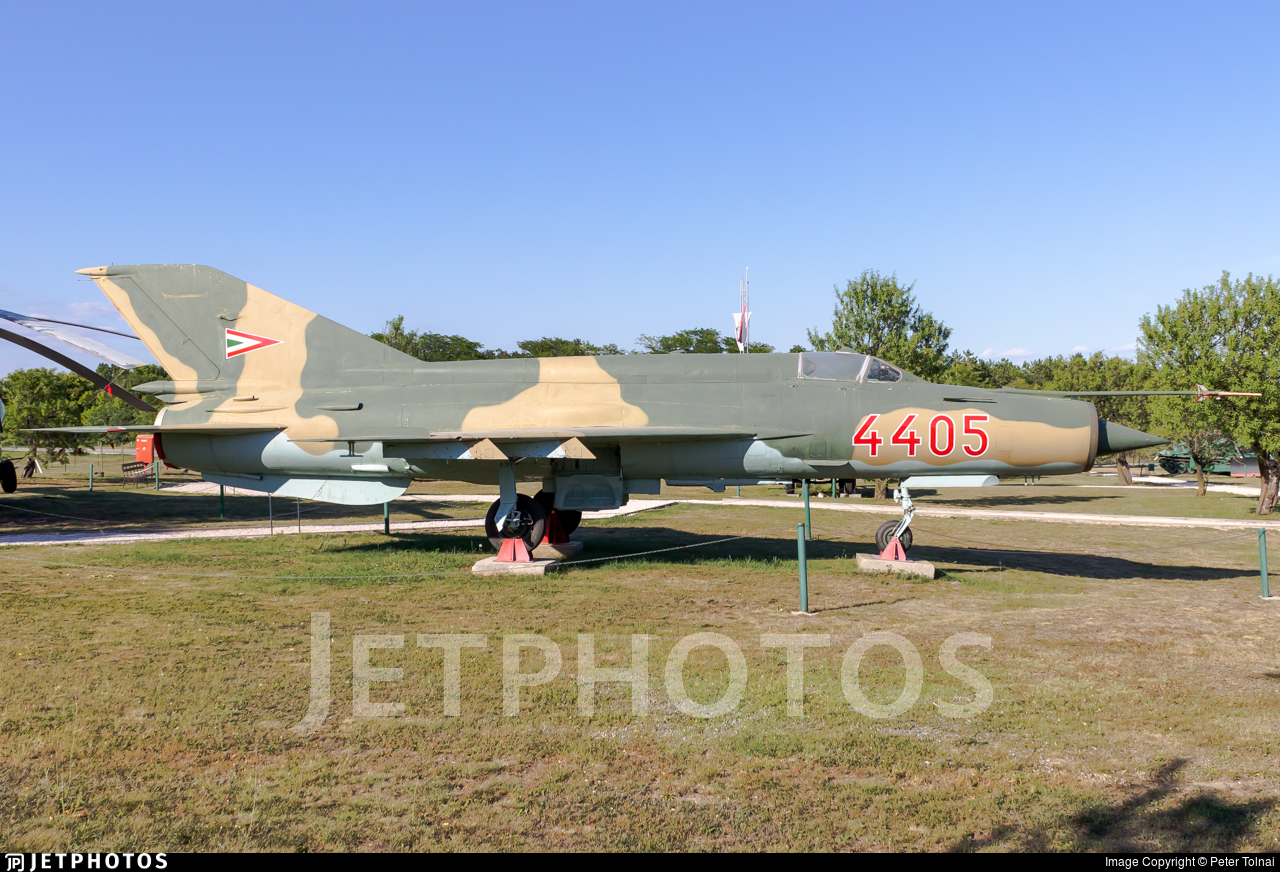 4405 - Mikoyan-Gurevich MiG-21MF Fishbed J - Hungary - Air Force