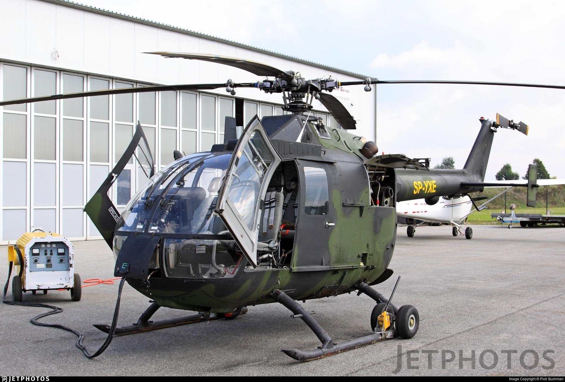 SP-YXE - MBB Bo105P1 - Private