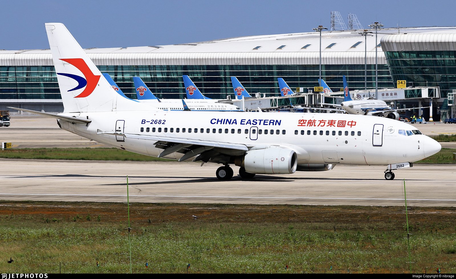 B-2682 - Boeing 737-79P - China Eastern Airlines