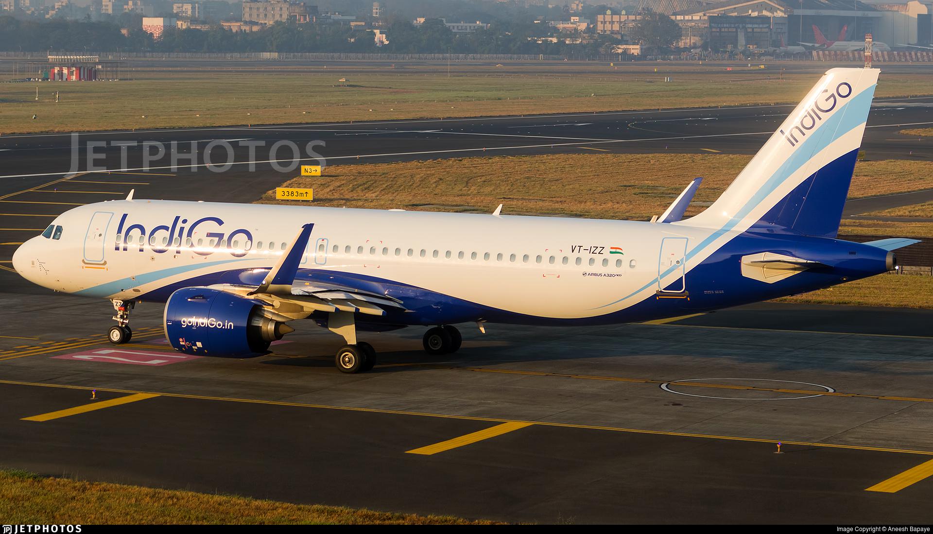 VT-IZZ - Airbus A320-271N - IndiGo Airlines