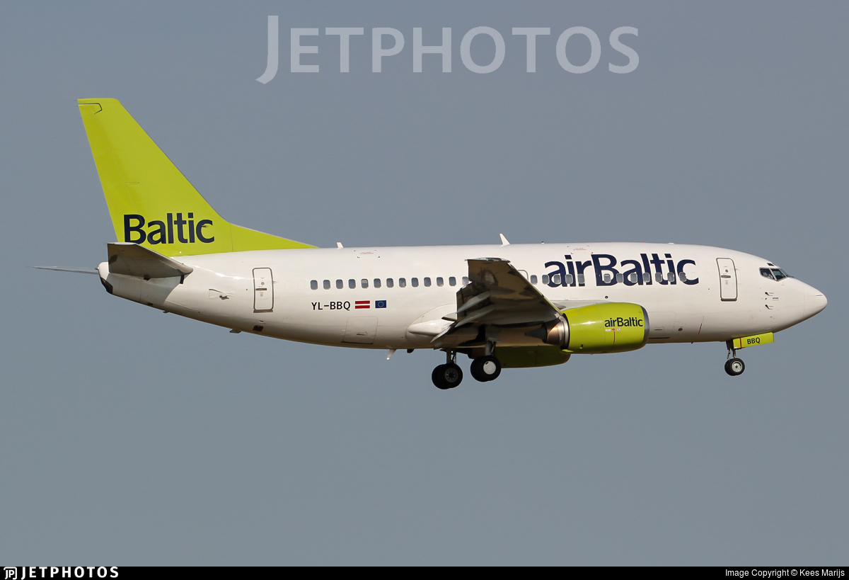 YL-BBQ - Boeing 737-522 - Air Baltic