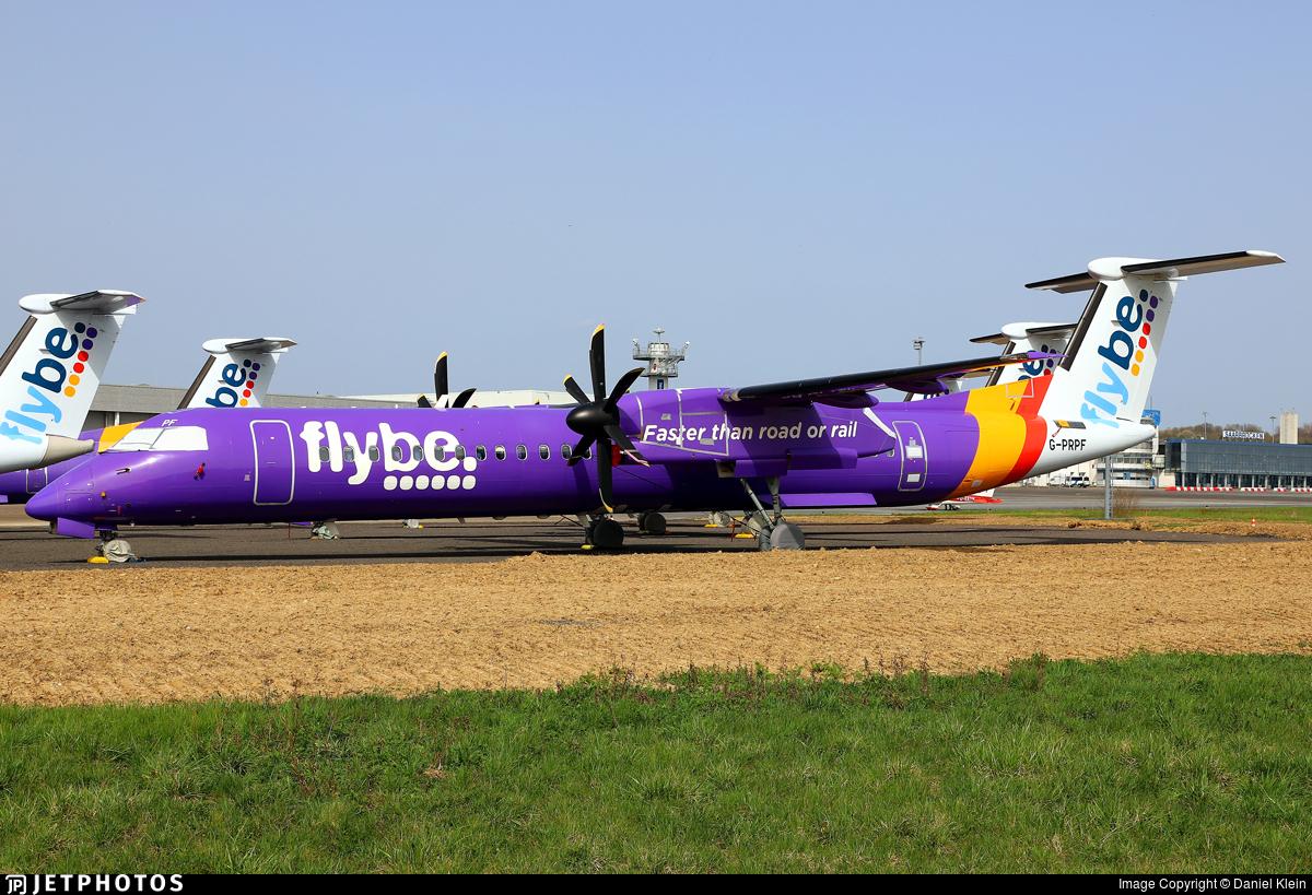 G-PRPF - Bombardier Dash 8-Q402 - Flybe
