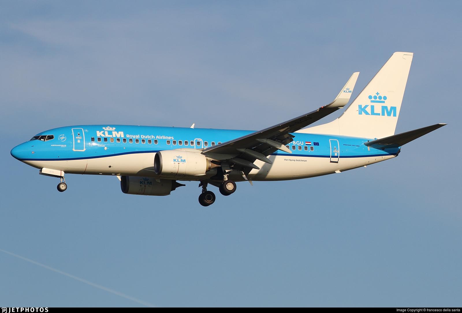 PH-BGU - Boeing 737-7K2 - KLM Royal Dutch Airlines