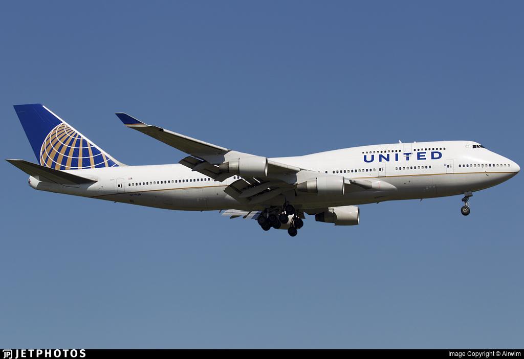 N179UA - Boeing 747-422 - United Airlines