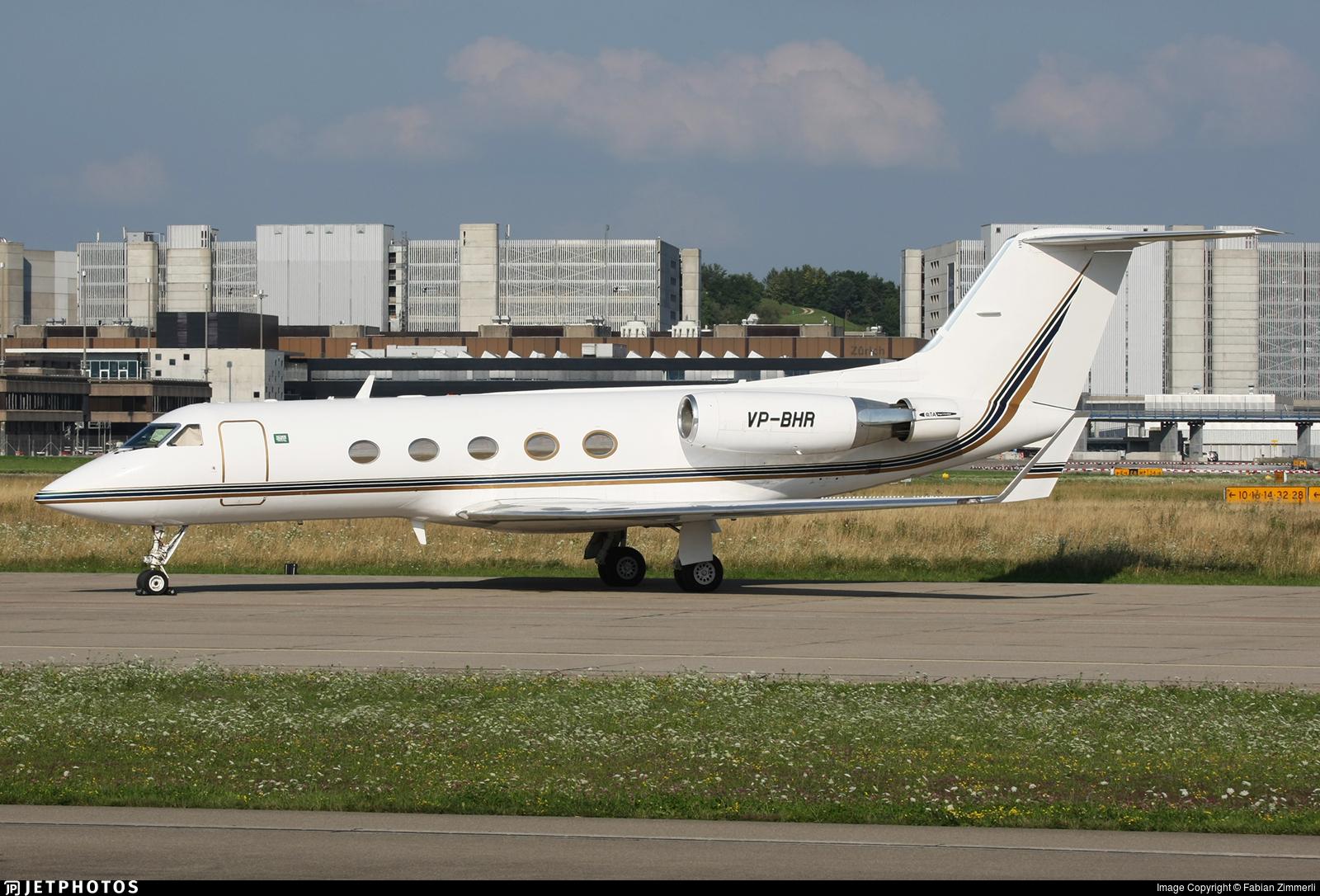 VP-BHR - Gulfstream G-III - Saudi Oger