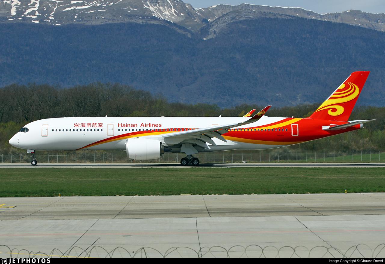 F-WXAN - Airbus A350-941 - Hainan Airlines