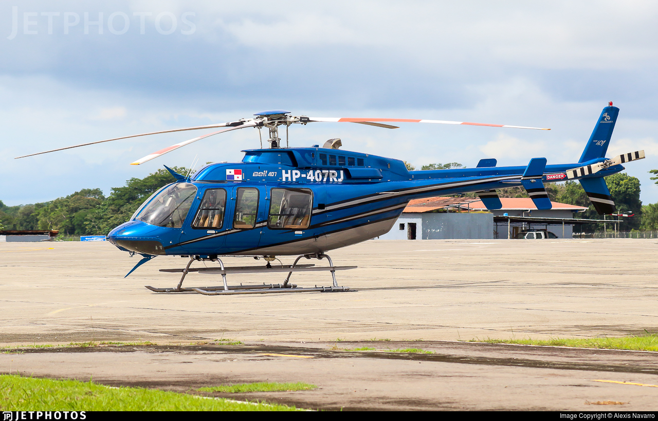 HP-407RJ - Bell 407 - Private