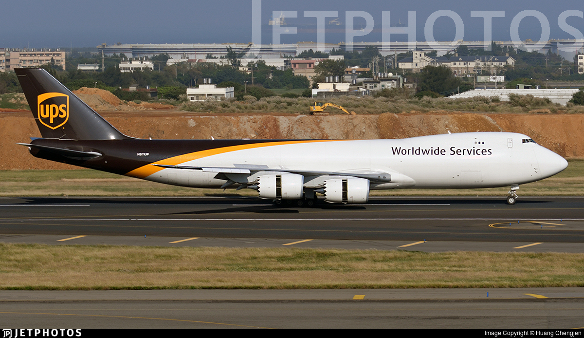 N611UP - Boeing 747-84AF - United Parcel Service (UPS)