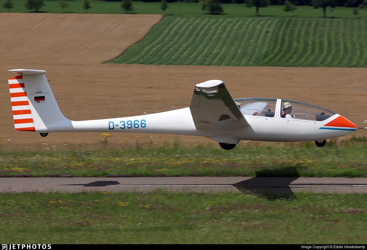 D-3966 - Grob G-103 Twin Astir - Private