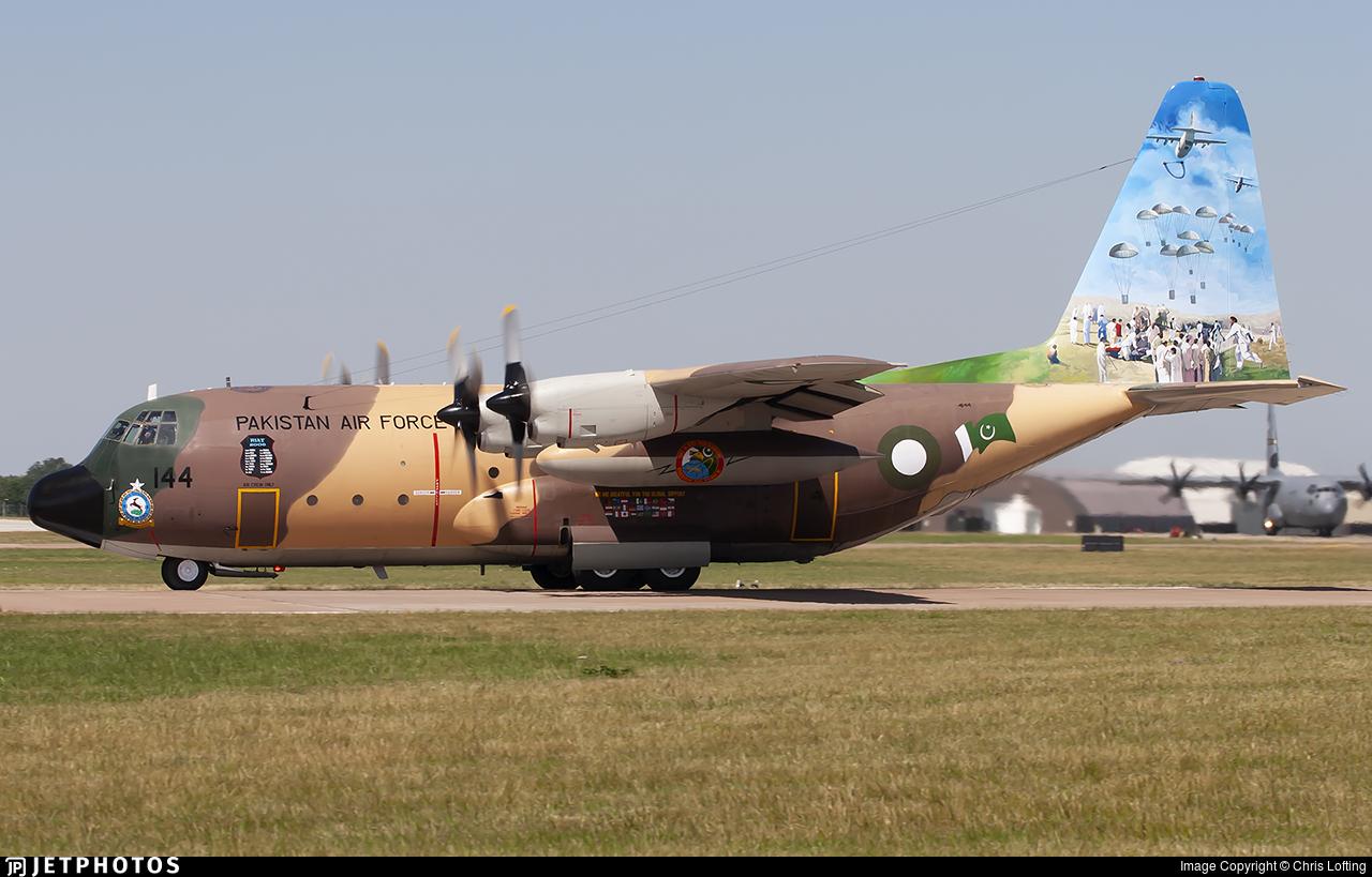 64144 - Lockheed C-130E Hercules - Pakistan - Air Force