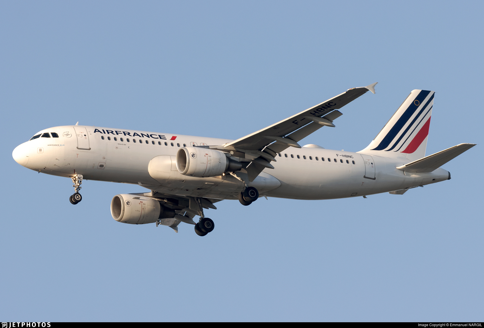 F-HBNC - Airbus A320-214 - Air France