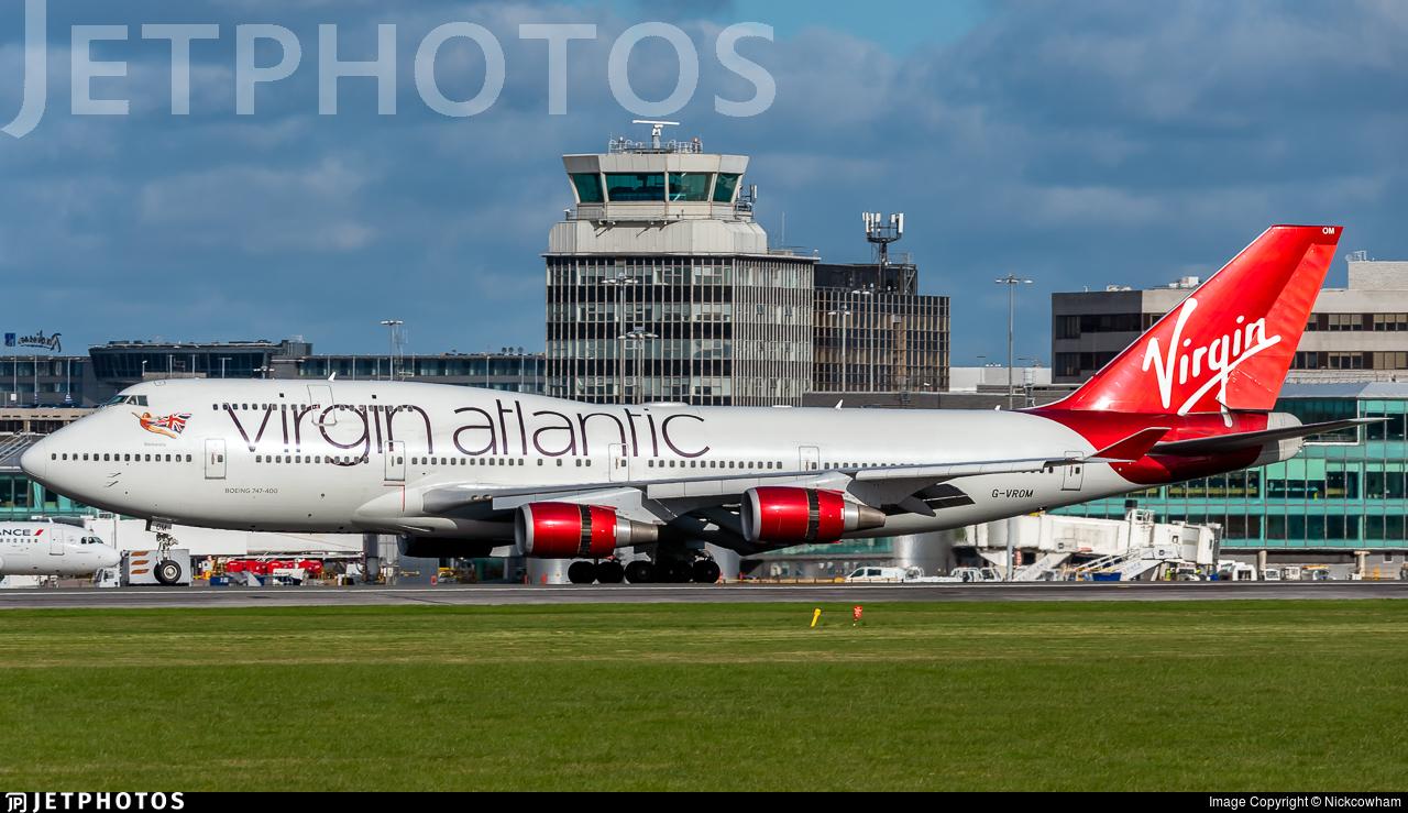 G-VROM - Boeing 747-443 - Virgin Atlantic Airways