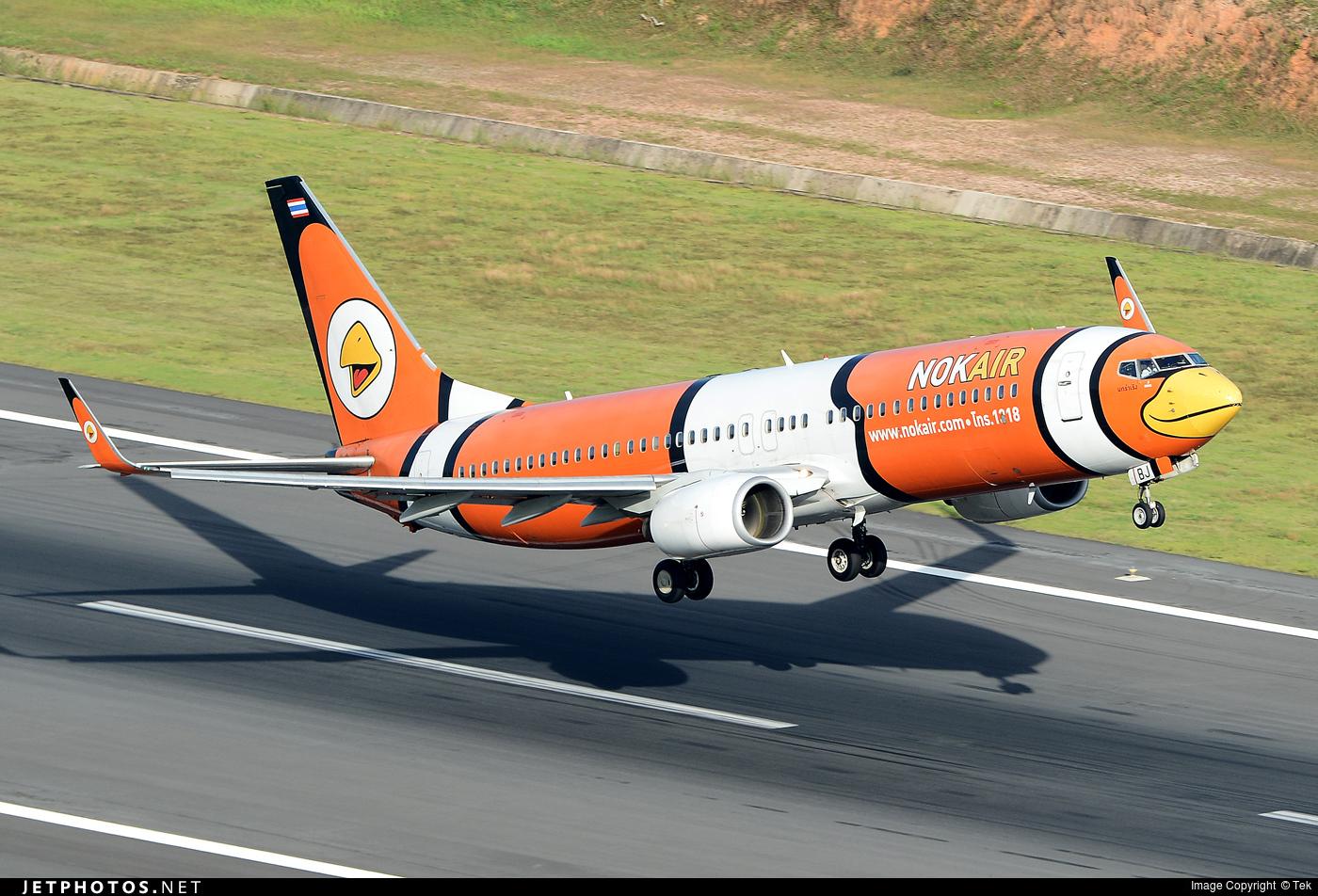 HS-DBJ - Boeing 737-83N - Nok Air
