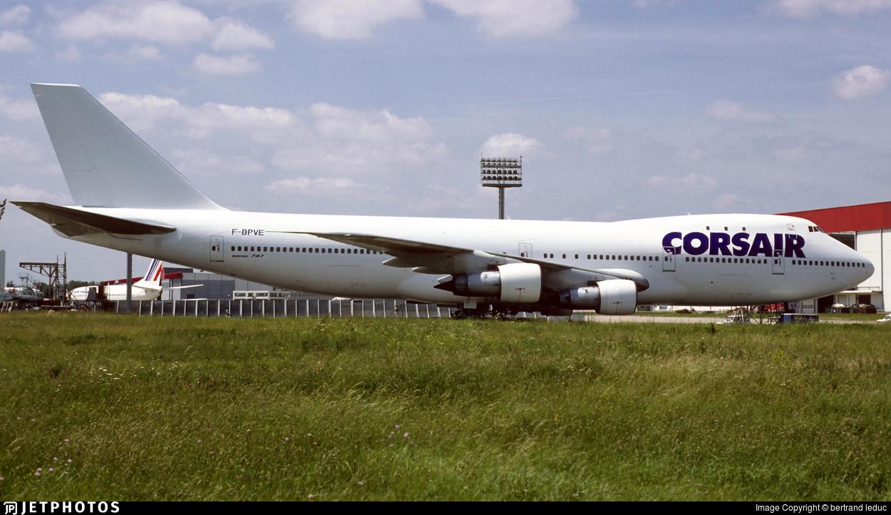 F-BPVE | Boeing 747-128 | Corsair | bertrand leduc | JetPhotos