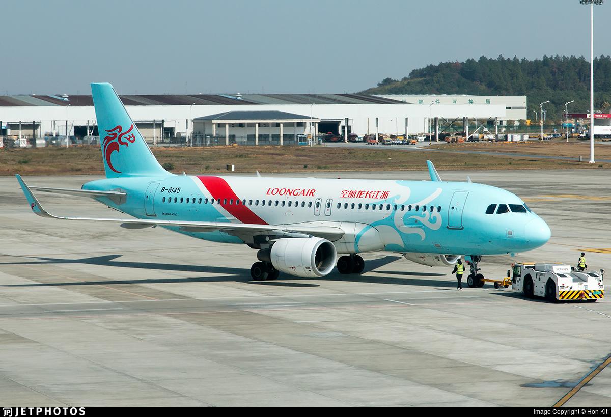 B-8145 - Airbus A320-214 - Loong Air