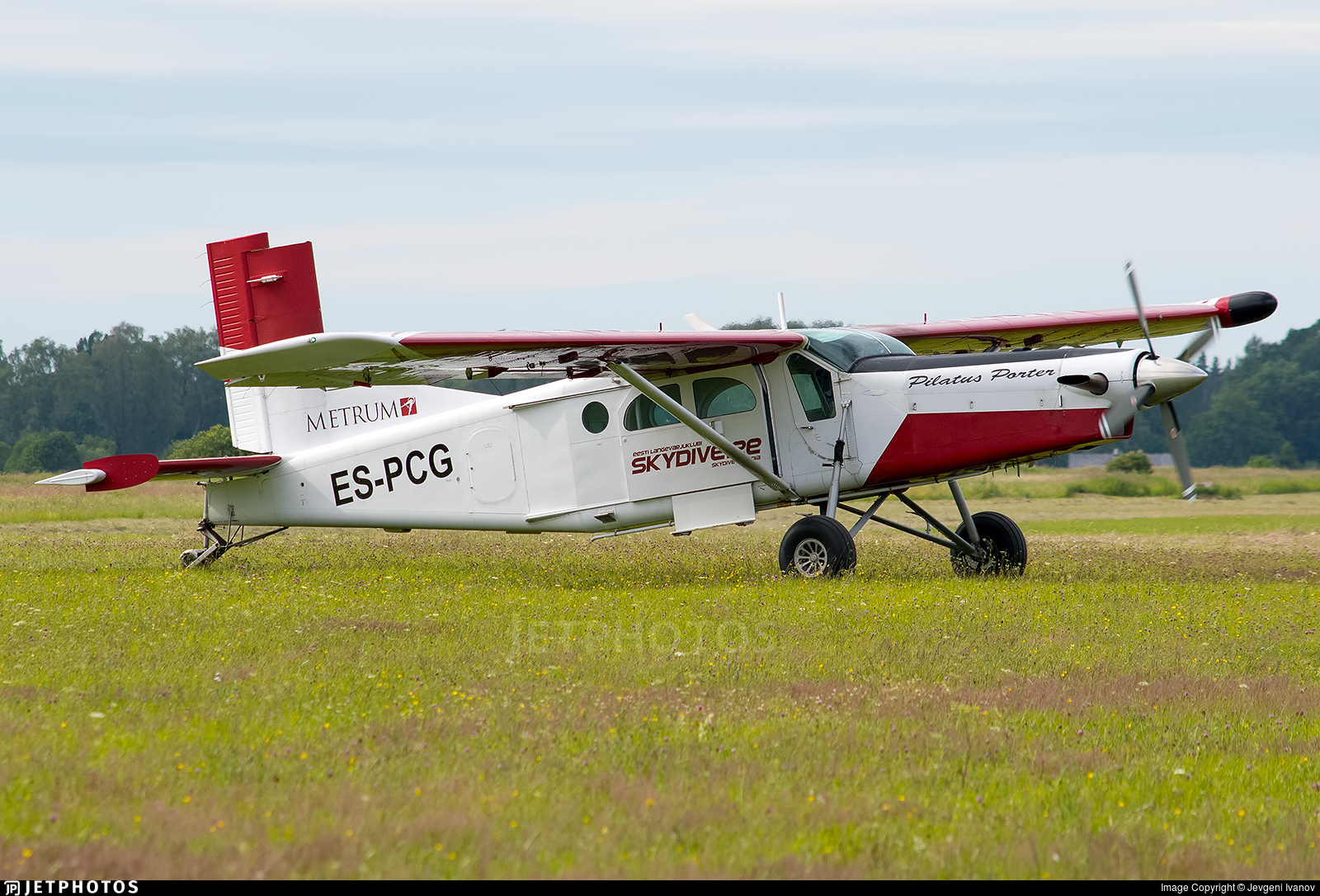ES-PCG - Pilatus PC-6/B2-H4 Turbo Porter - Private