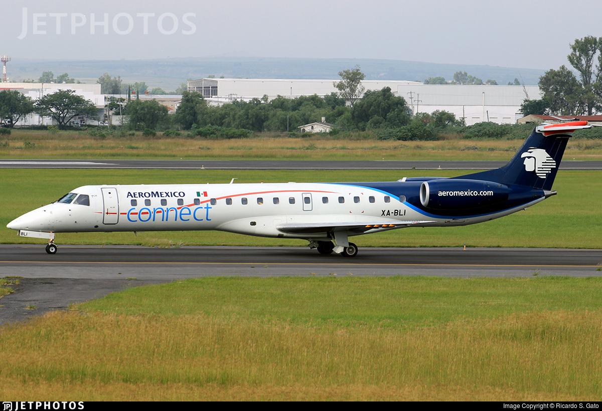 XA-BLI - Embraer ERJ-145LR - Aeroméxico Connect
