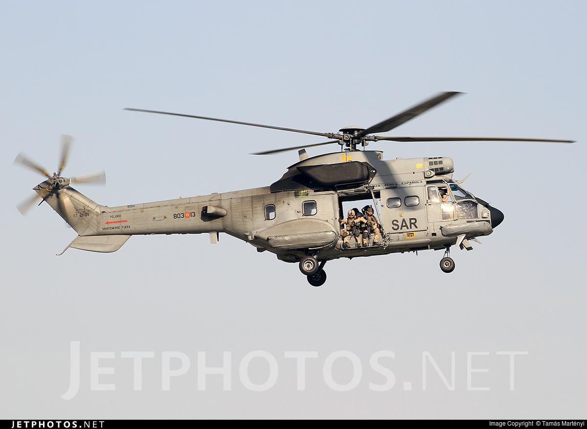 HT.21-01 - Aérospatiale AS 332B Super Puma - Spain - Air Force