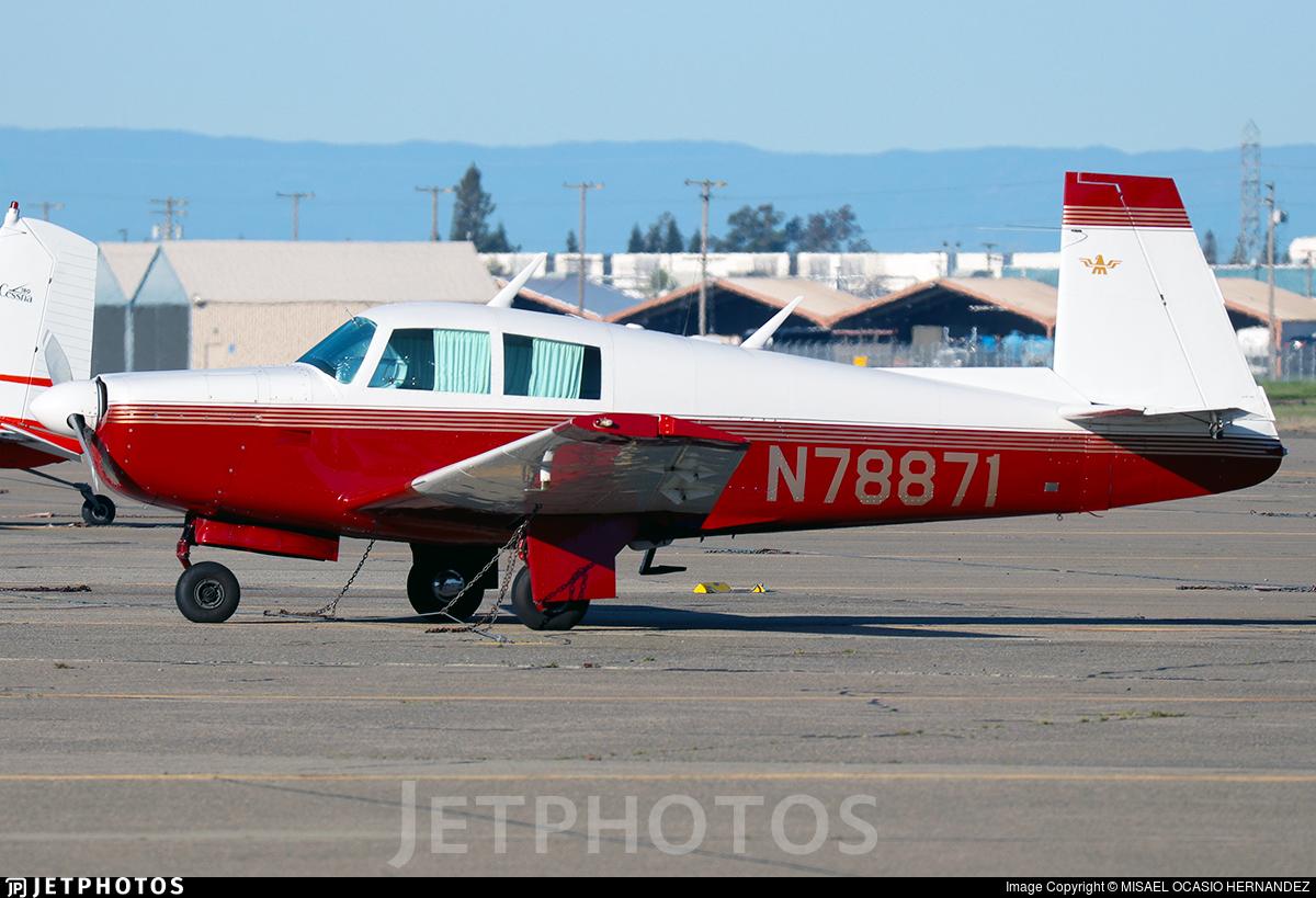 N78871 - Mooney M20C - Private