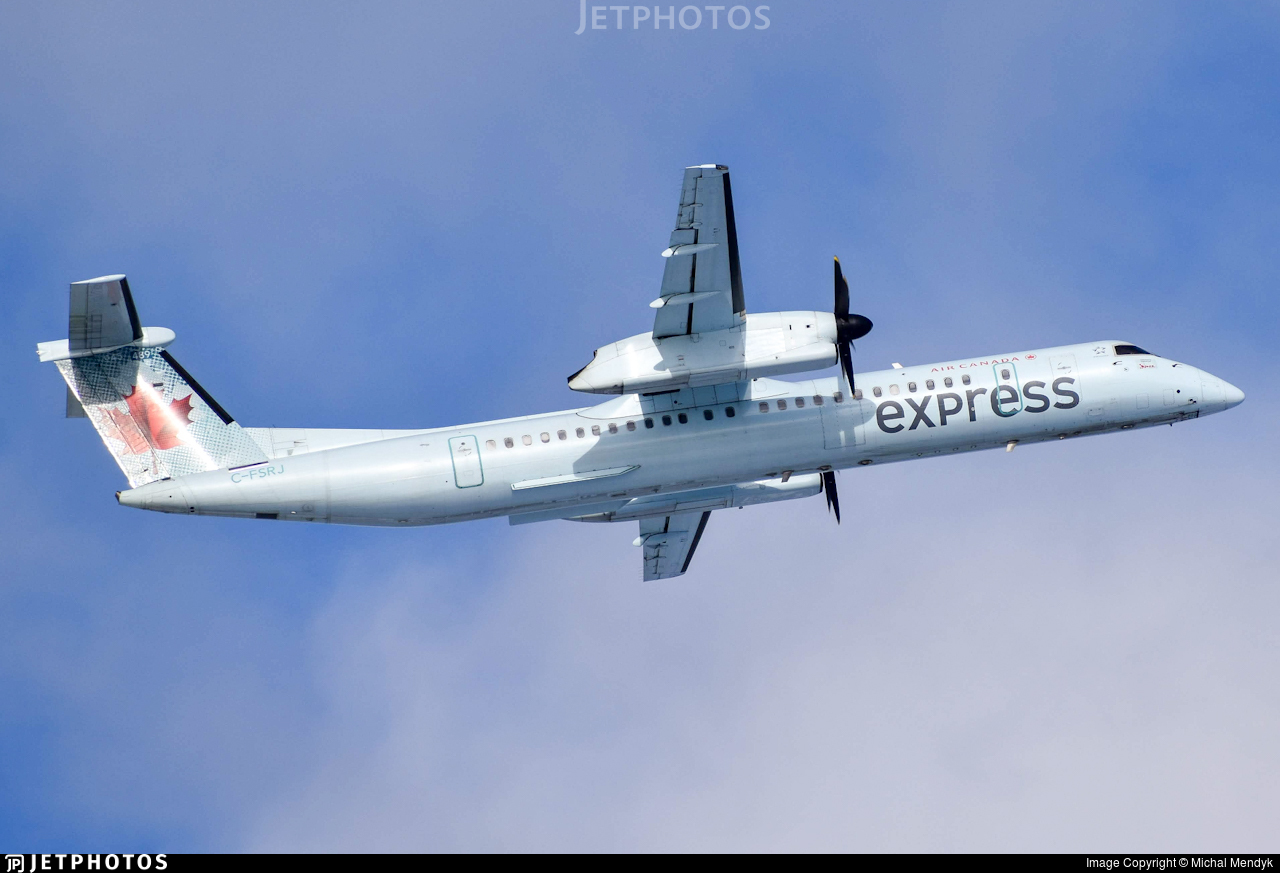 C-FSRJ - Bombardier Dash 8-Q402 - Air Canada Express (Jazz Aviation)
