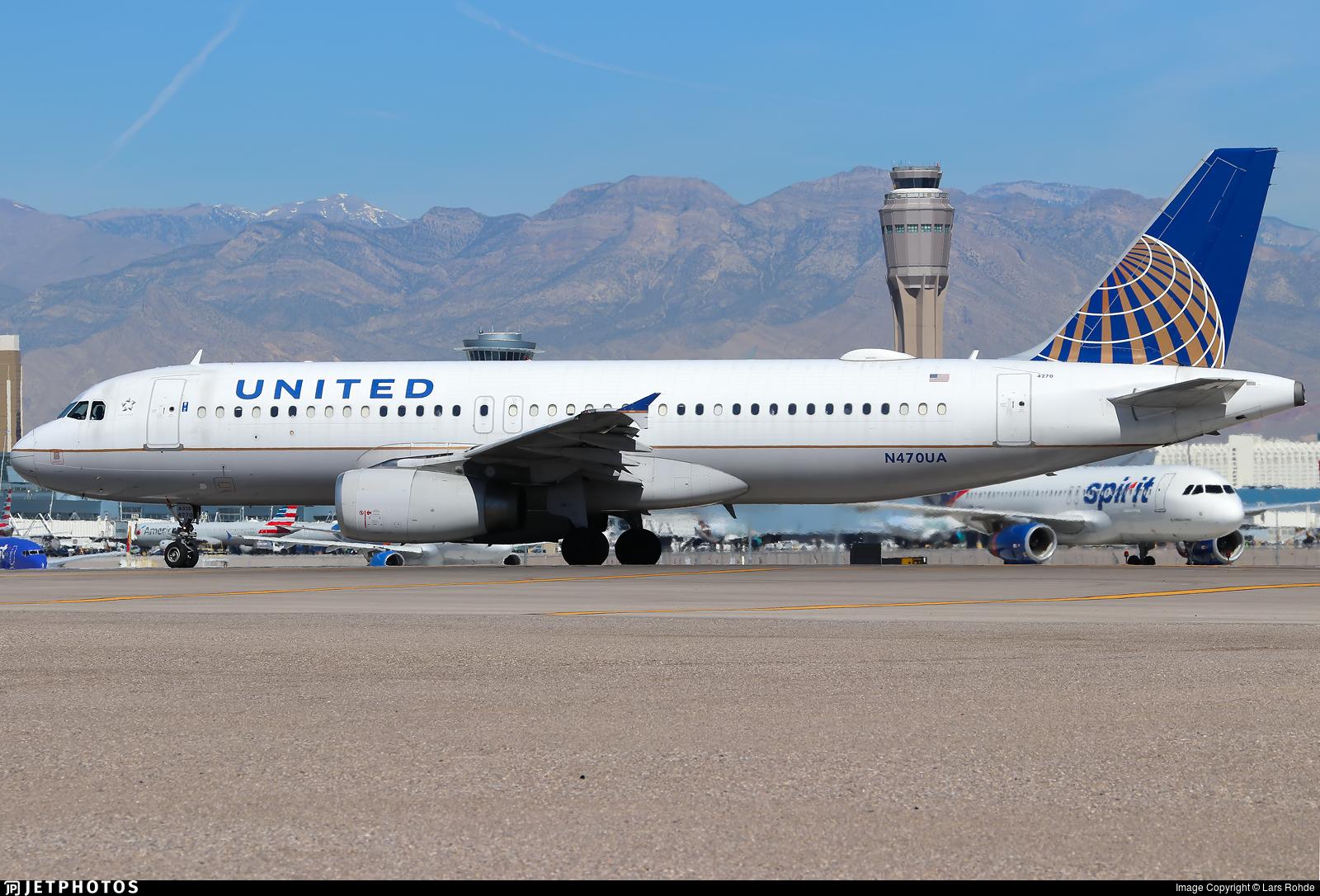 N470UA - Airbus A320-232 - United Airlines