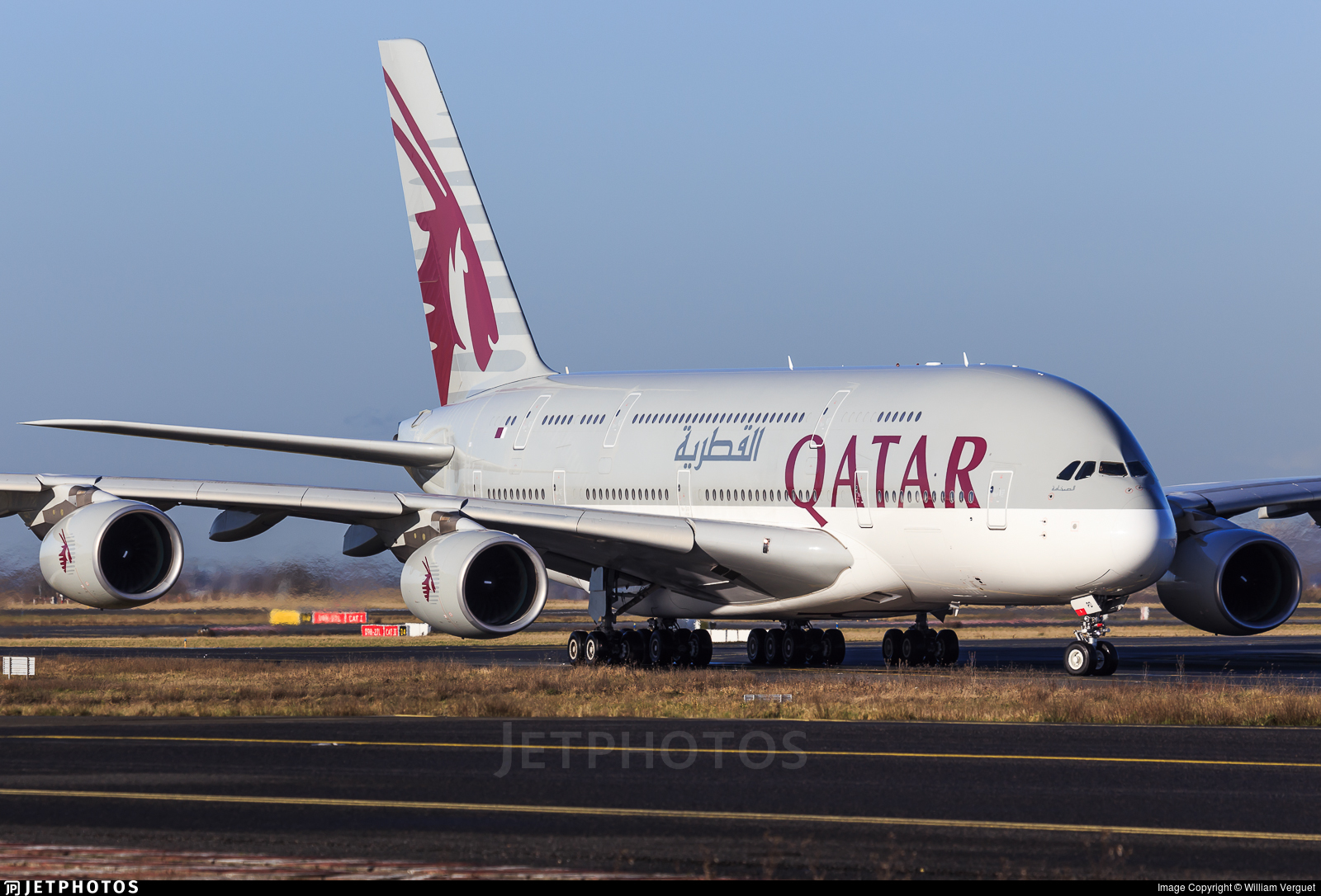 a7apd airbus a380861 qatar airways william verguet