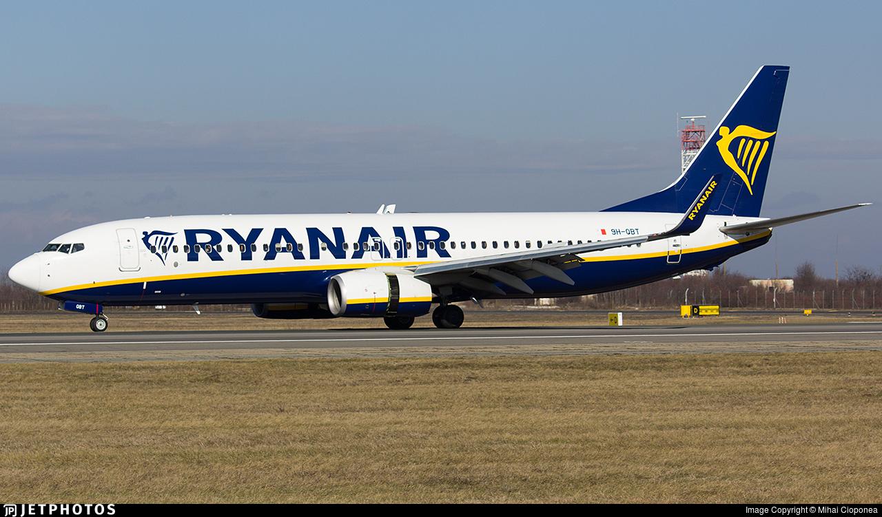 9H-QBT - Boeing 737-8AS - Ryanair (Malta Air)