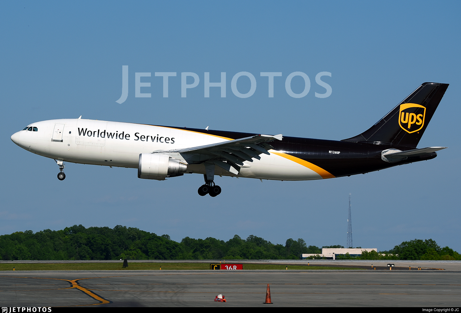 N126UP - Airbus A300F4-622R - United Parcel Service (UPS)