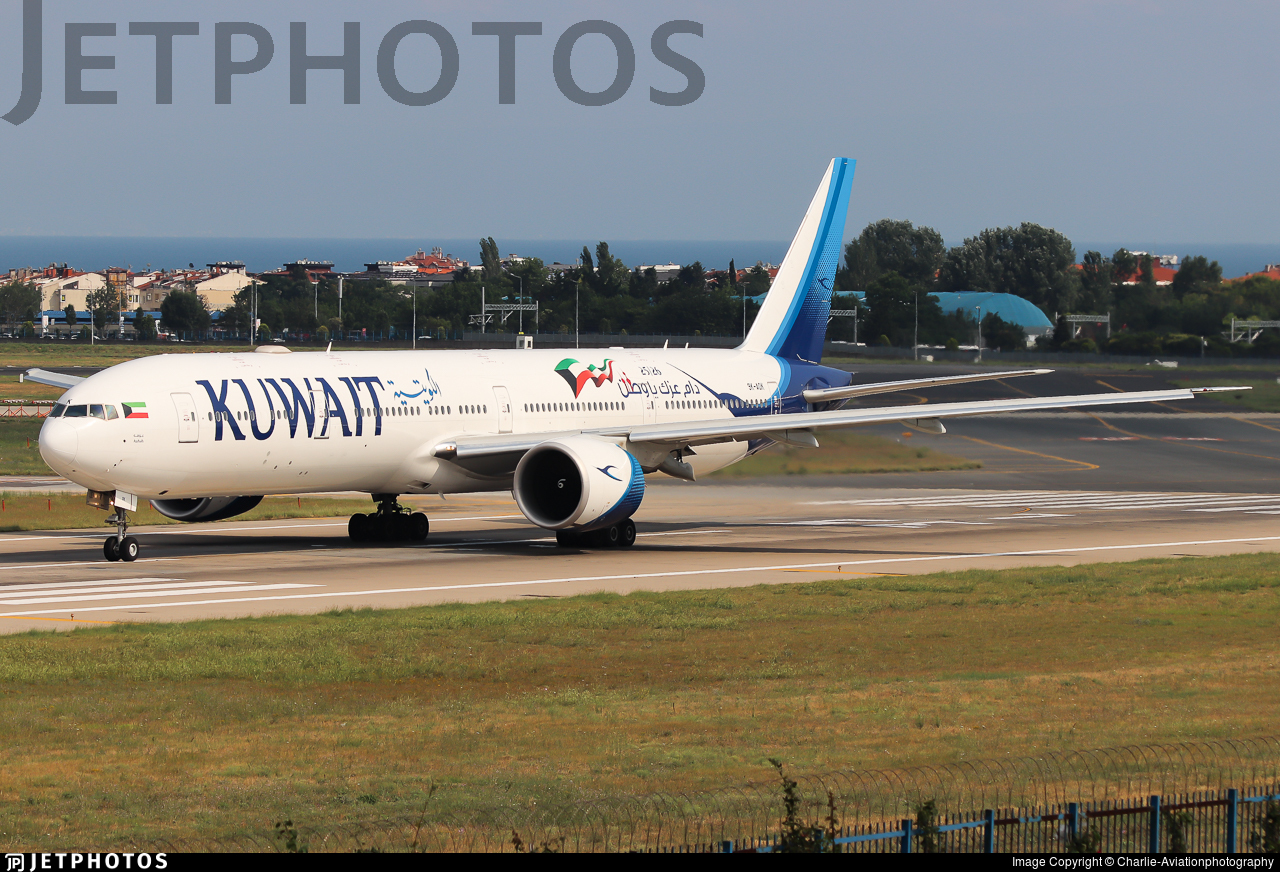 9K-AOK - Boeing 777-369ER - Kuwait Airways