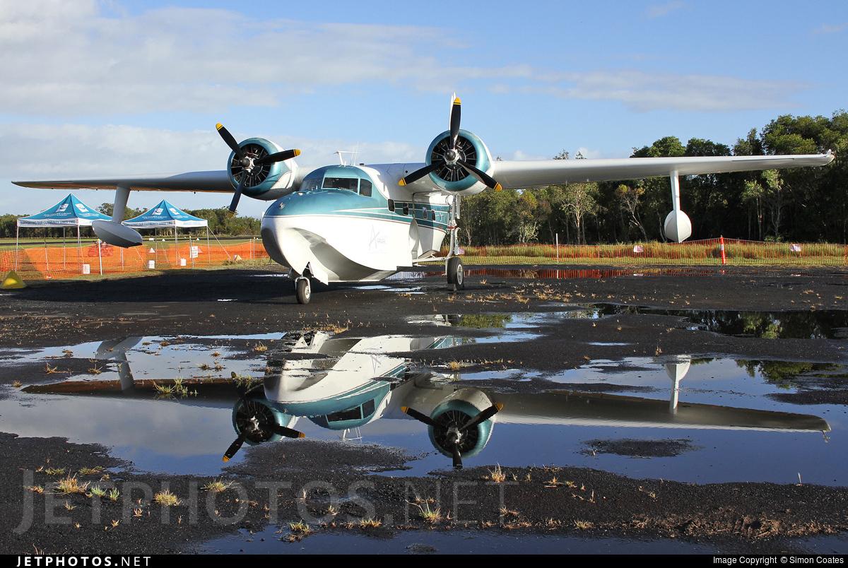 VH-CQA - Grumman G-73 Mallard - Private