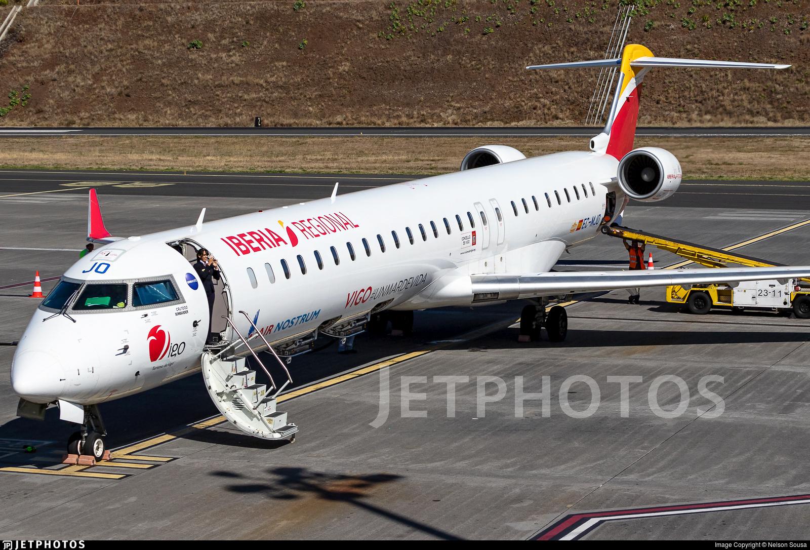 EC-MJO | Bombardier CRJ-1000 | Iberia Regional (Air Nostrum