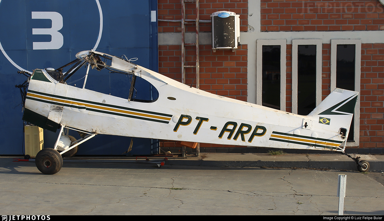 PT-ARP - Piper PA-18-135 Super Cub - Private