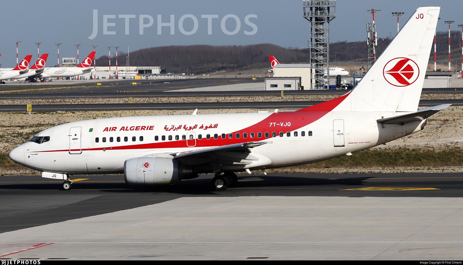 7T-VJO - Boeing 737-8D6 - Air Algérie