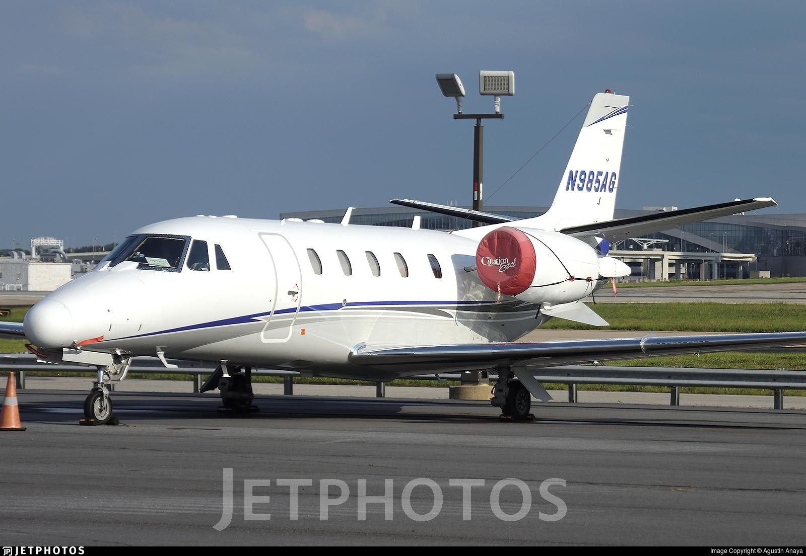 N985AG - Cessna 560XL Citation Excel - Private