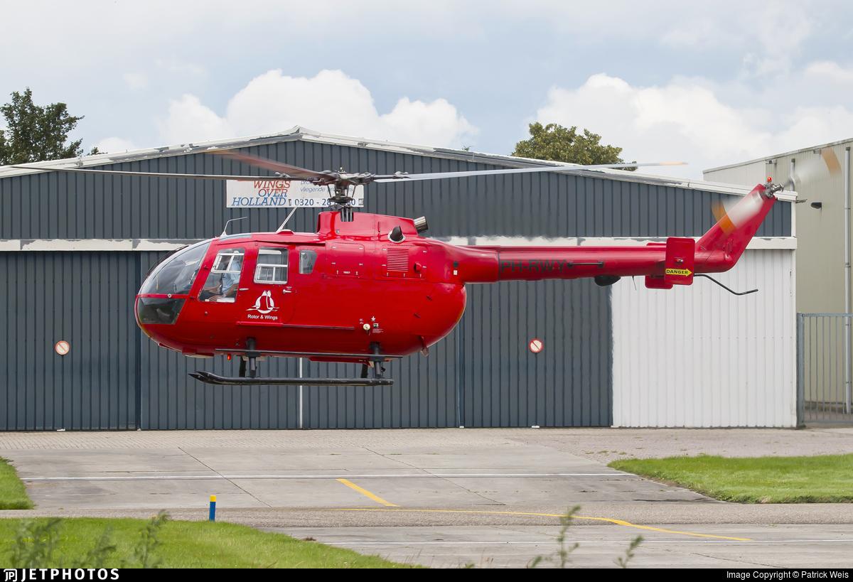 PH-RWY - MBB Bo105DBS-4 - Rotor & Wings