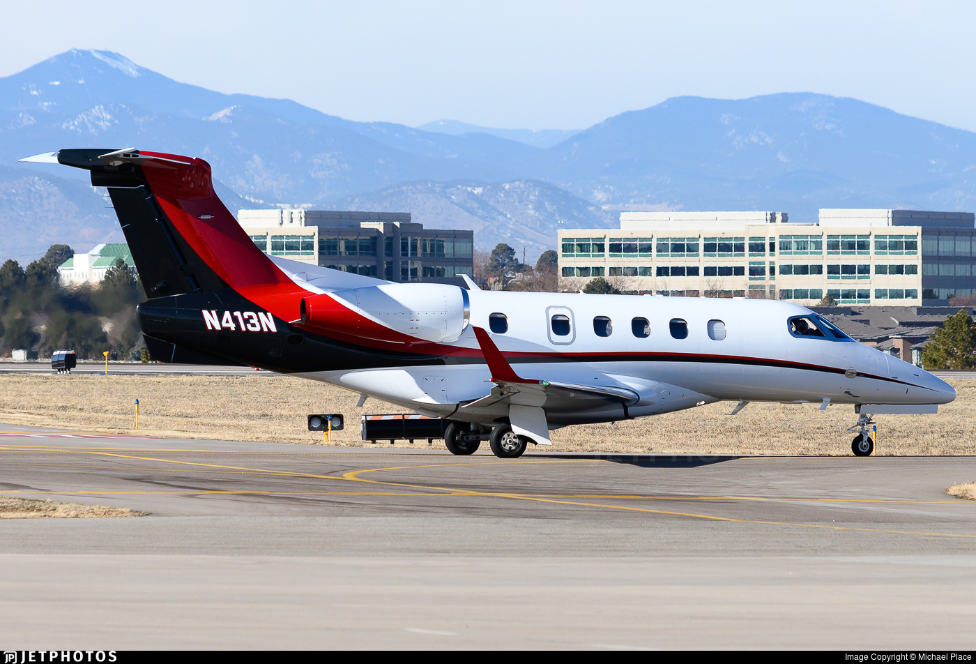 N413N - Embraer 505 Phenom 300 - Private