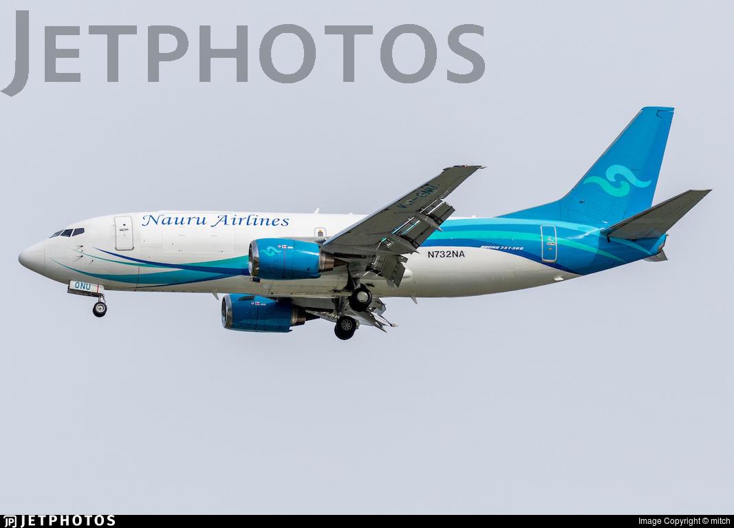 N732NA - Boeing 737-3U3(SF) - Nauru Airlines