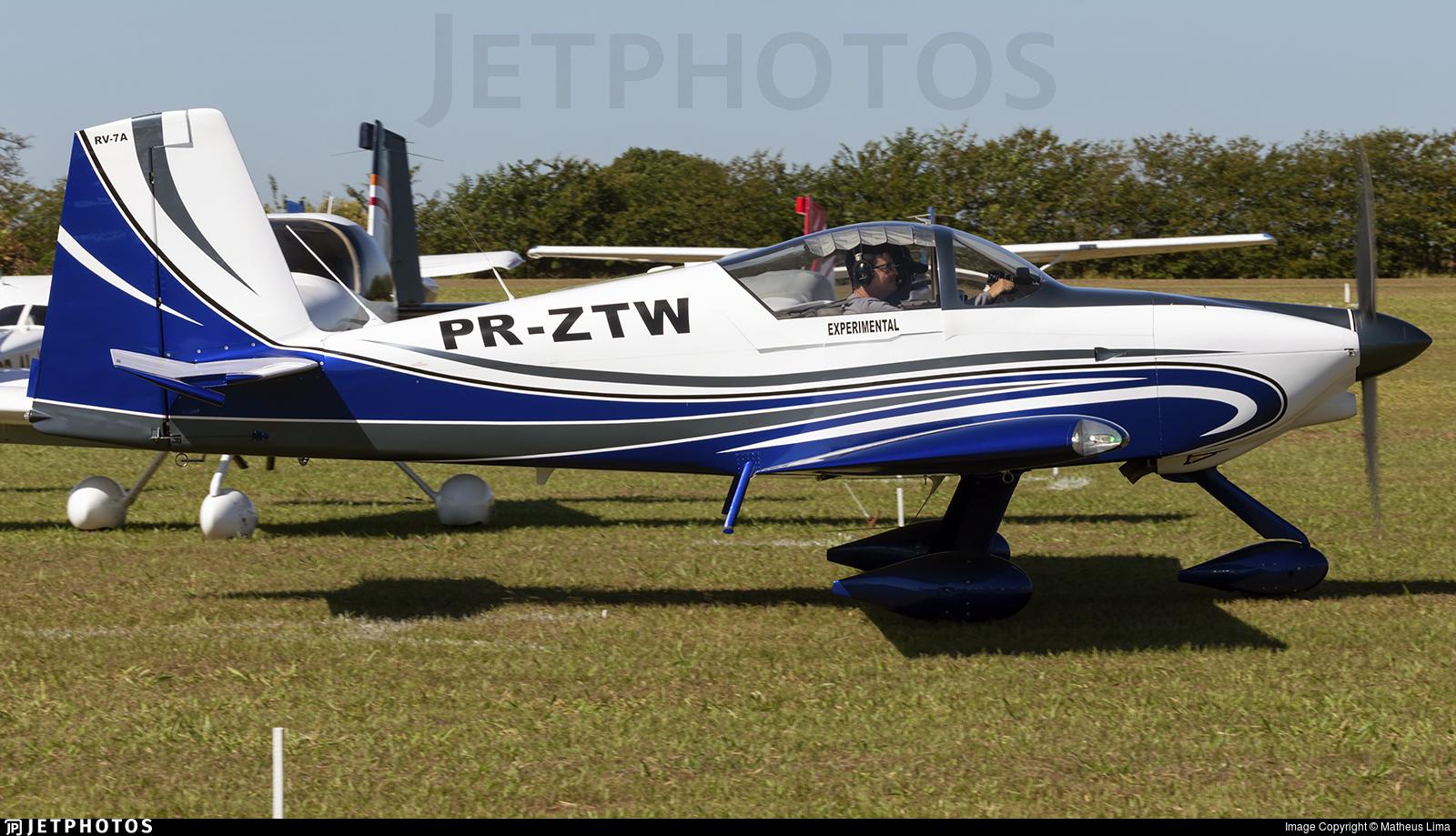 PR-ZTW - Vans RV-7A - Private