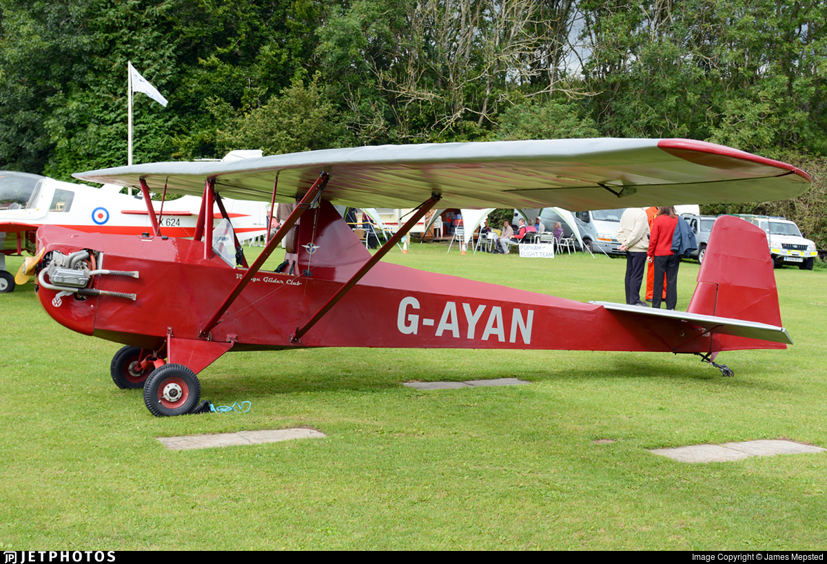 G-AYAN - Slingsby T31 Motor Cadet III - Private
