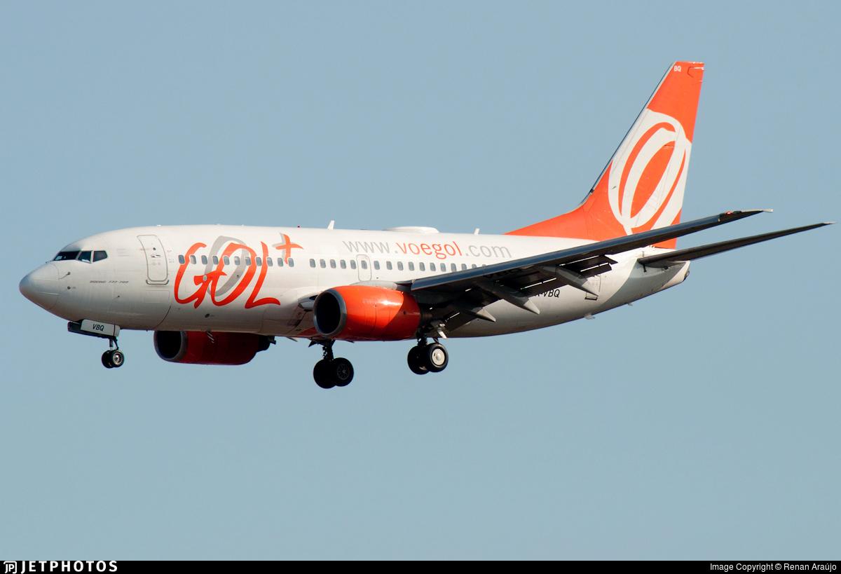 PR-VBQ - Boeing 737-76N - GOL Linhas Aereas
