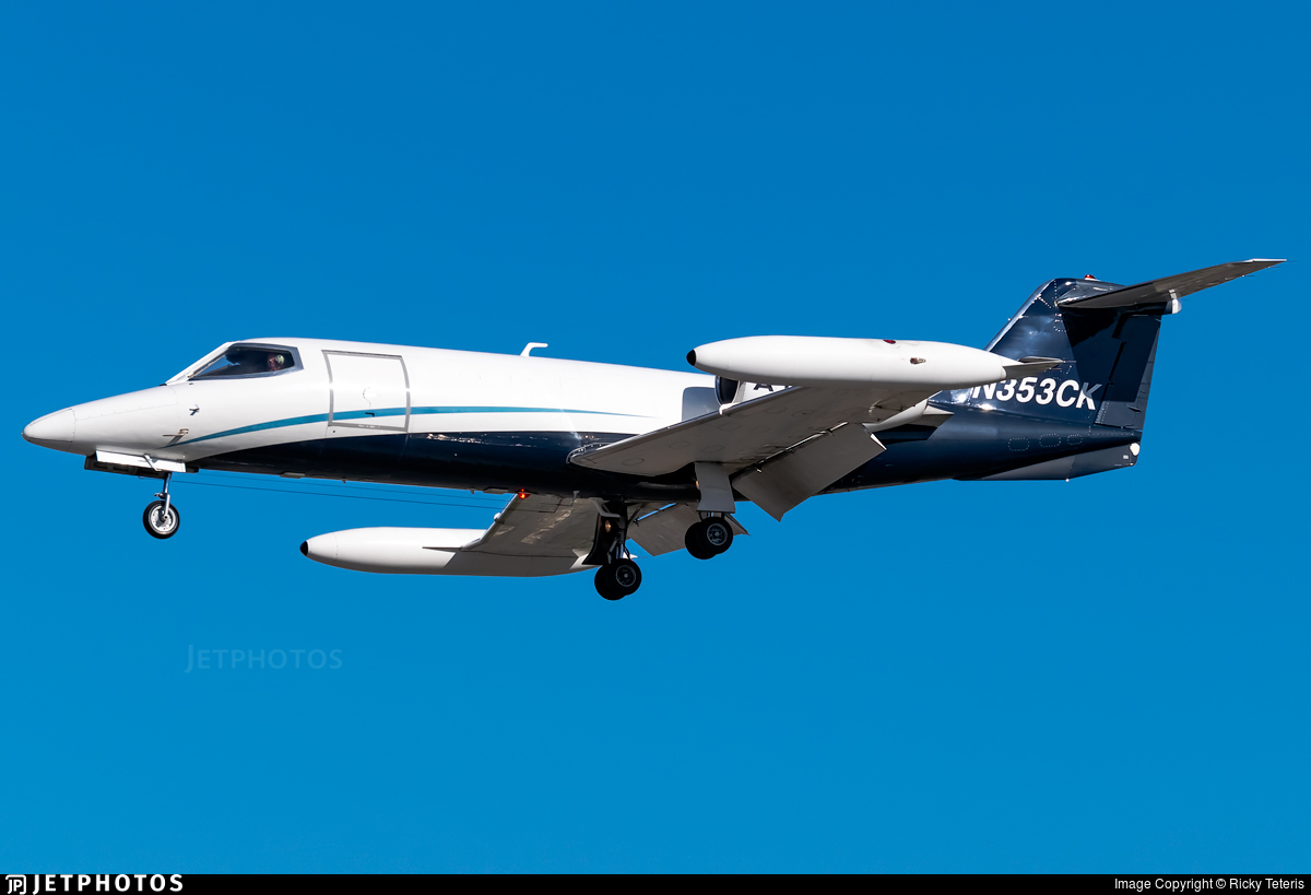 N353CK - Gates Learjet 35A - AirNet Systems