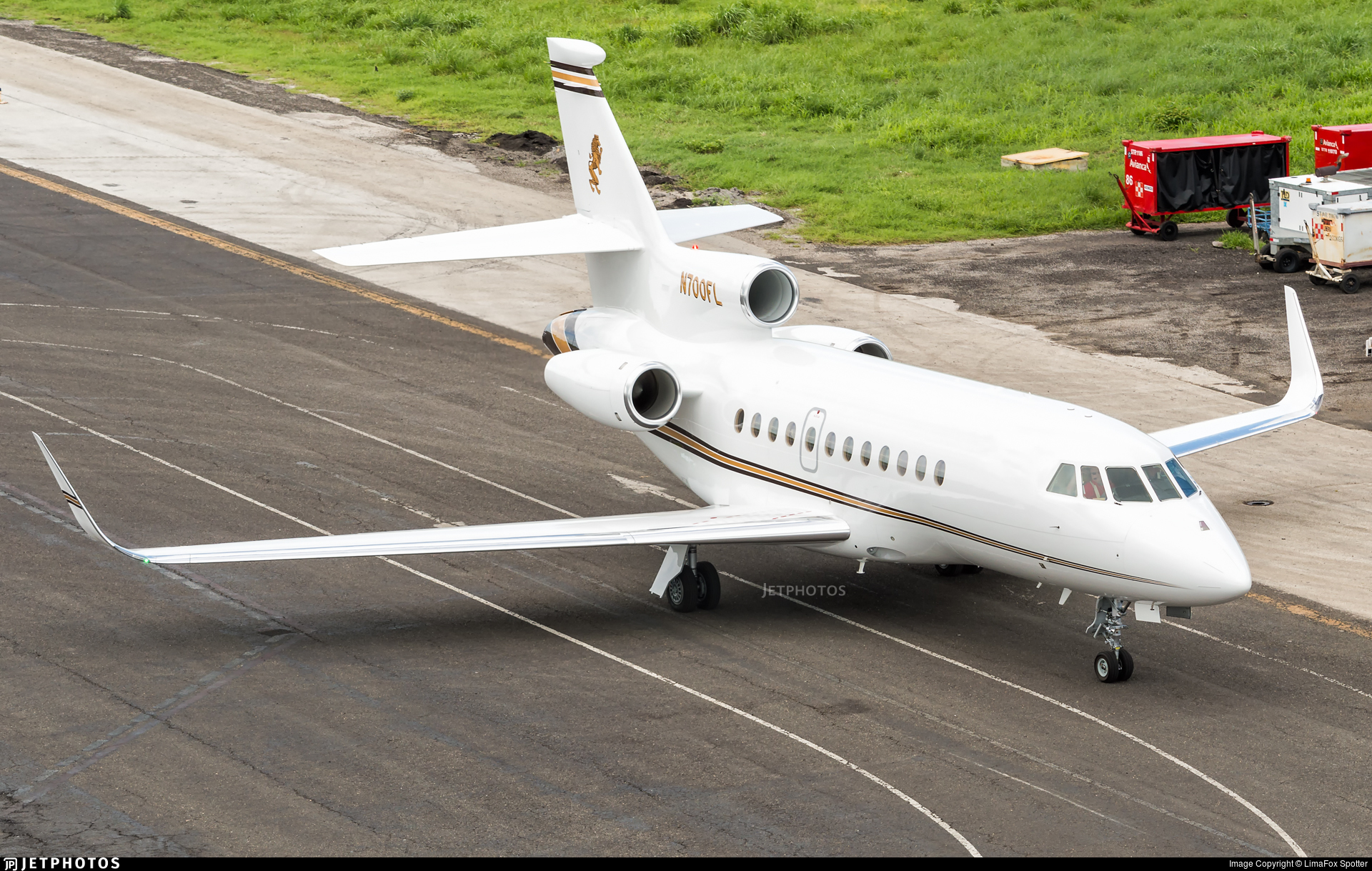 N700FL - Dassault Falcon 900EX - Private