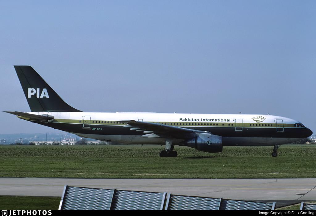 AP-BCJ - Airbus A300B4-203 - Pakistan International Airlines (PIA)