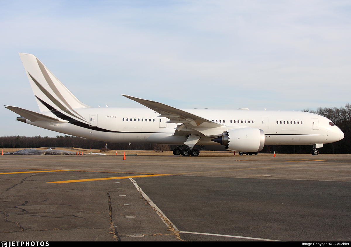 N507BJ - Boeing 787-8 Dreamliner - Korean Air