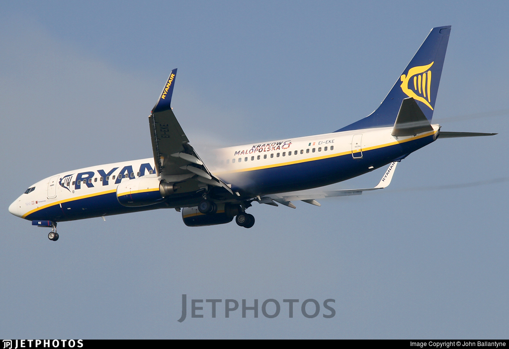 EI-EKE - Boeing 737-8AS - Ryanair